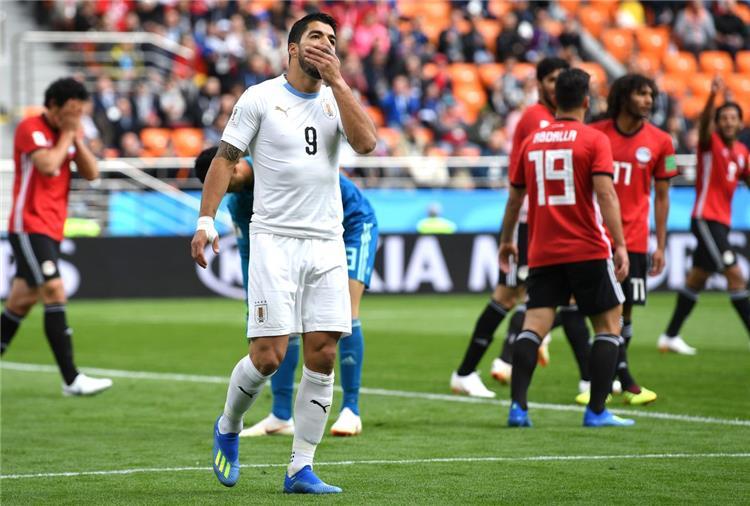 أوروجواي أمام مصر في مونديال روسيا