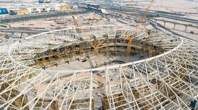 أحد ملاعب مونديال قطر 2022