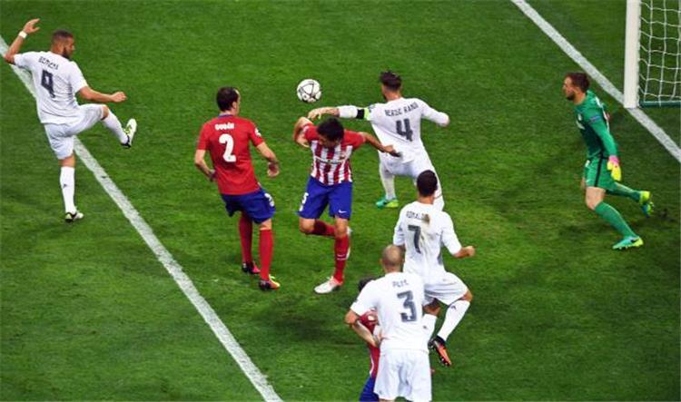 هدف راموس في أتلتيكو مدريد
