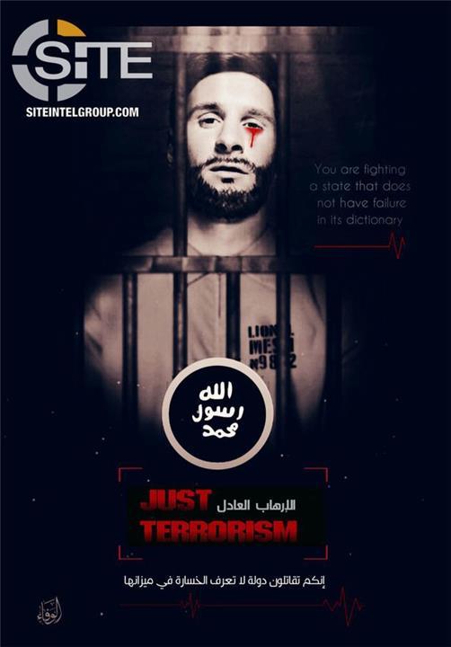 داعش يهدد ميسي ومونديال روسيا