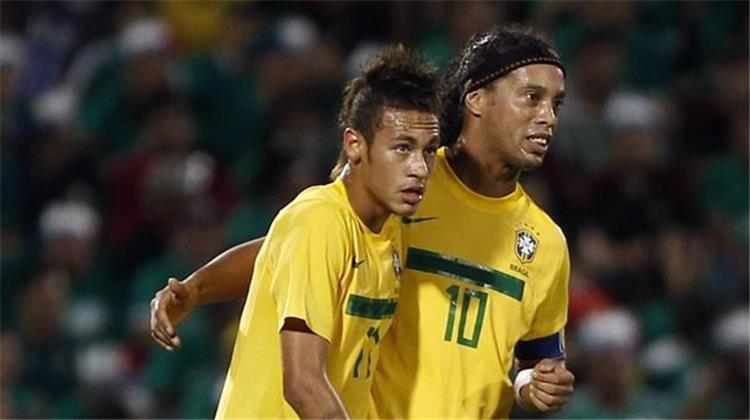 رونالدينيو نيمار قادر على قيادة البرازيل للتتويج بالمونديال