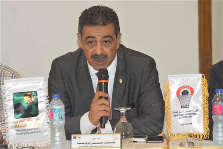 مجدي أبو فريخة رئيس اتحاد كرة السلة