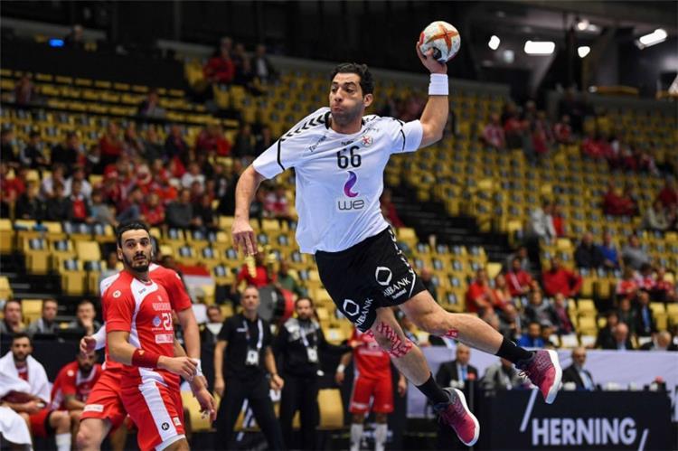 مباراة لمنتخب مصر في كرة اليد