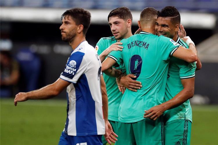 فالفيردي ولاعبي ريال مدريد