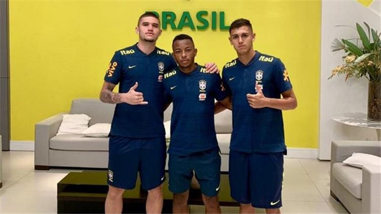 لوكاس فاسون مع المنتخب البرازيلي