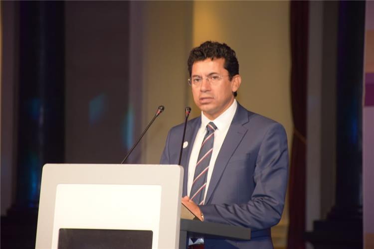 أشرف صبحي وزير الرياضة