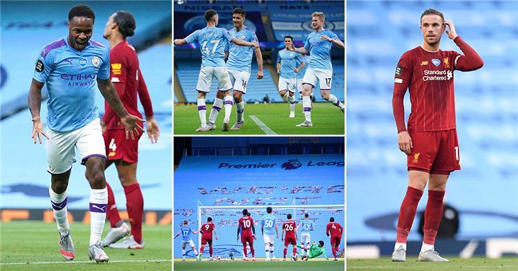 ليفربول 0 4 مانشستر سيتي