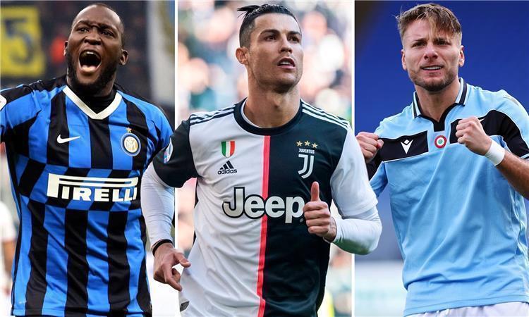 ترتيب هدافي الدوري الإيطالي بعد نهاية الجولة 30 بطولات