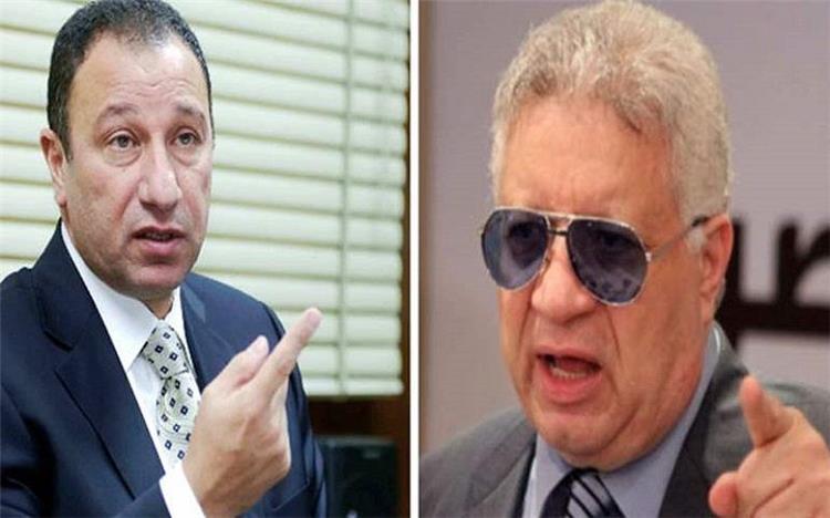مرتضى منصور ومحمود الخطيب