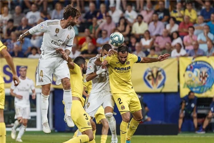 صورة أرشيفية ريال مدريد وفياريال