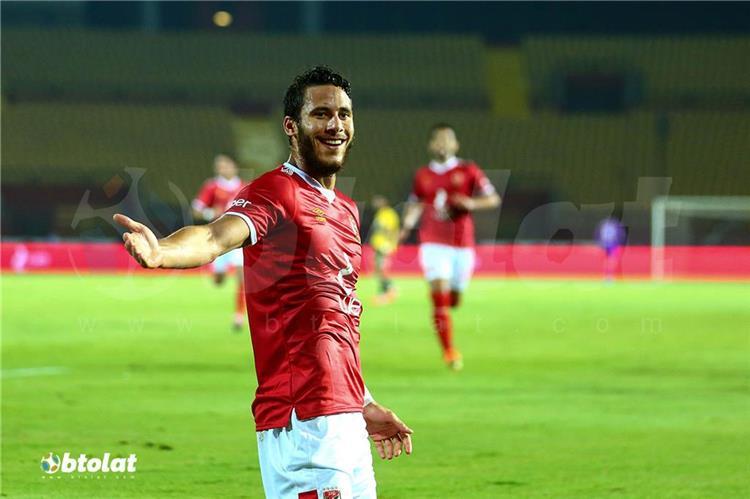 رمضان صبحي لاعب الأهلي