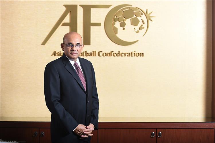 ويندسور جون امين عام الاتحاد الأسيوي لكرة القدم