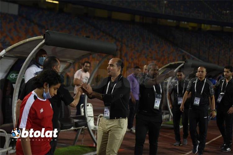 احمد كشري في مباراة الزمالك واسوان