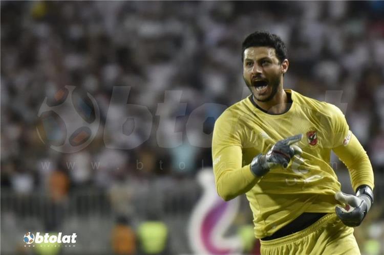 محمد الشناوي حارس الأهلي