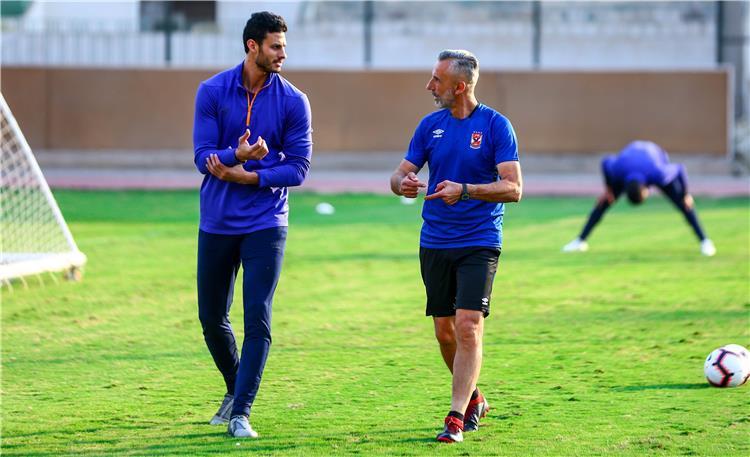 محمد الشناوي وميشيل ياناكون