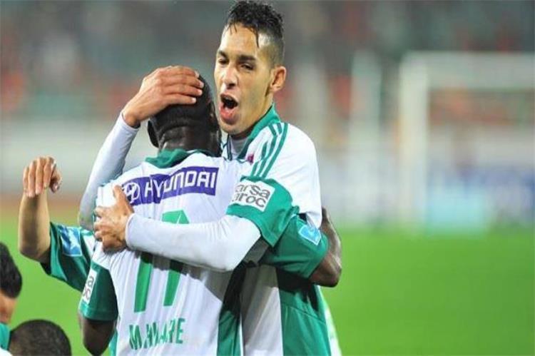 بدر بانون لاعب الرجاء المغربي