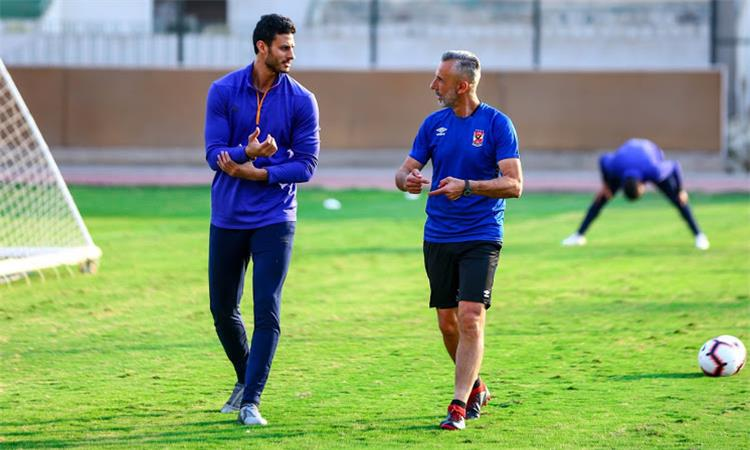 محمد الشناوي مع ياناكوني