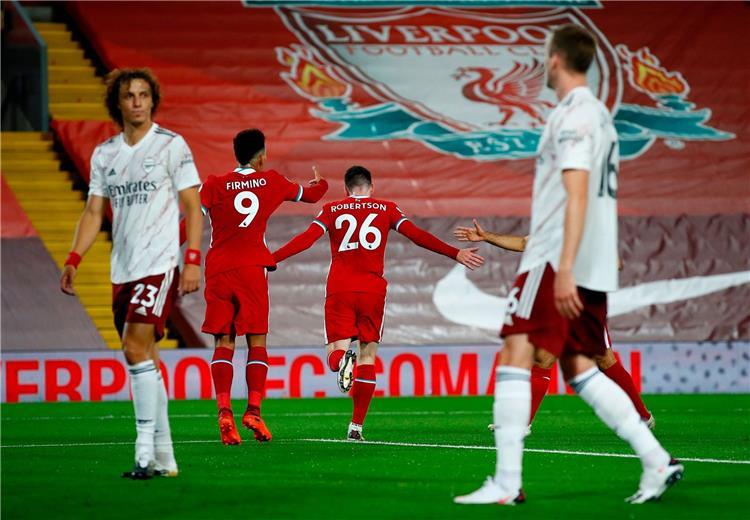 فيديو - روبرتسون يسجل هدف ليفربول الثاني أمام آرسنال
