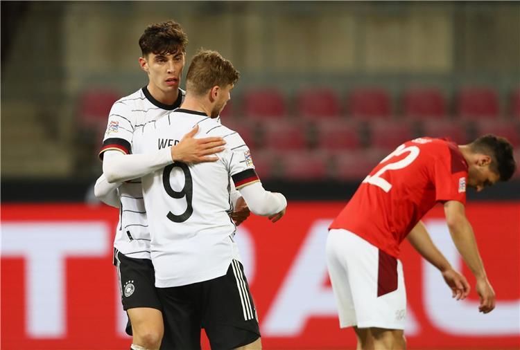 مباراة ألمانيا وسويسرا