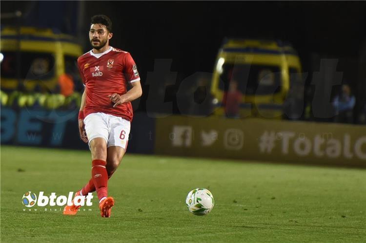 ياسر إبراهيم لاعب الأهلي