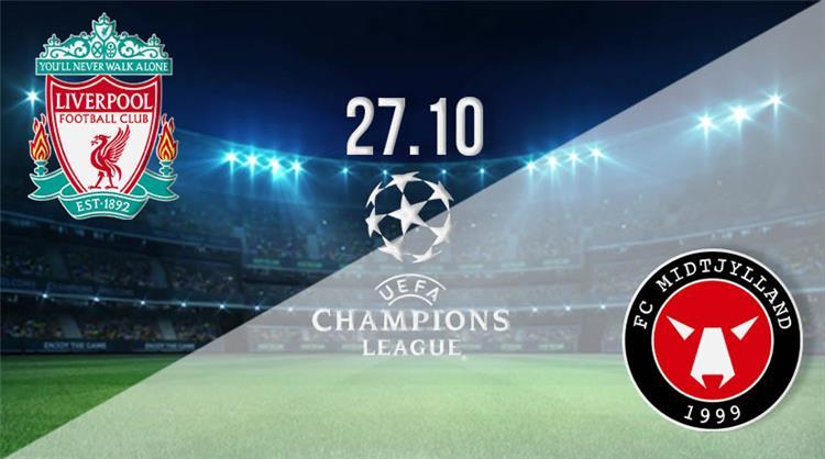 تشكيل ليفربول المتوقع أمام ميتلاند اليوم في دوري أبطال أوروبا