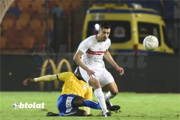 حمدي الونش لاعب الزمالك