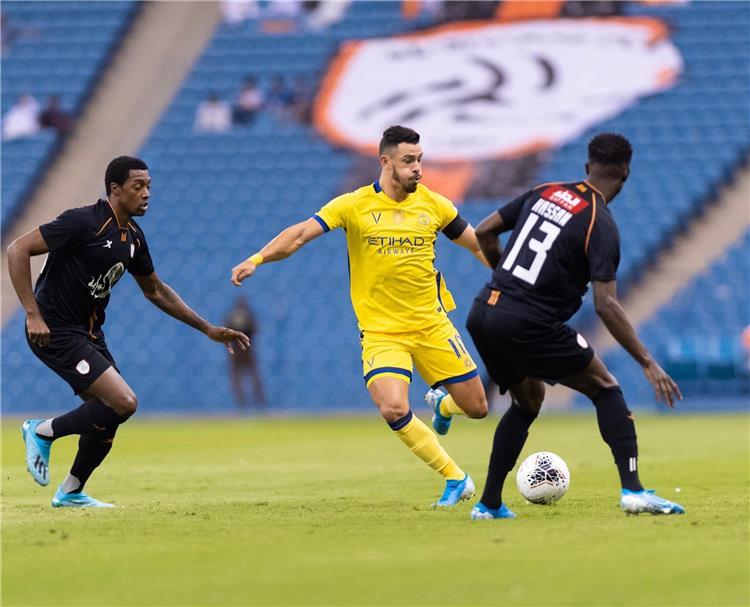 مباراة النصر والشباب في الدوري السعودي