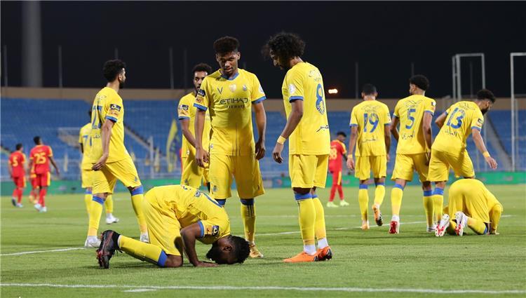 مباراة النصر والقادسية في الدوري السعودي