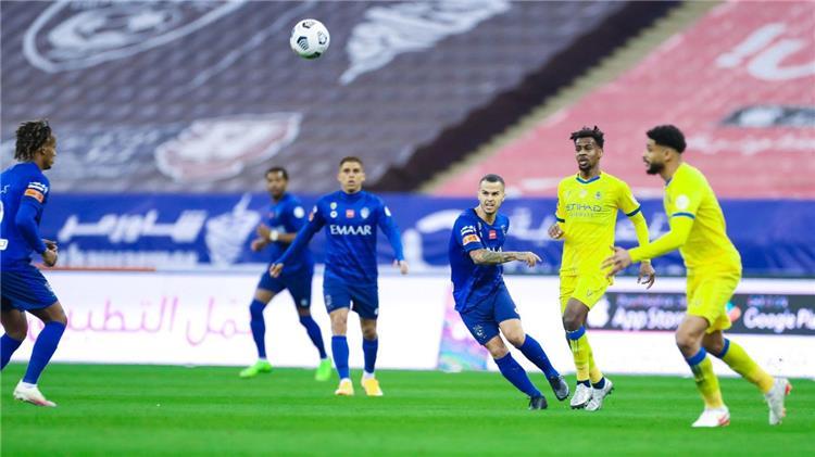 مباراة الهلال والنصر السعودي