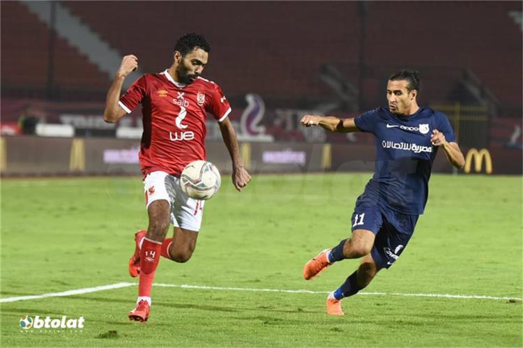 حسين الشحات لاعب الأهلي
