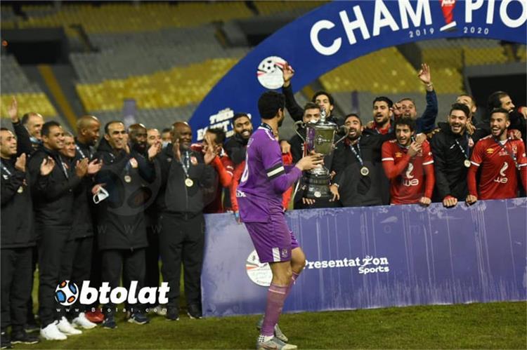 الأهلي بطل كأس مصر