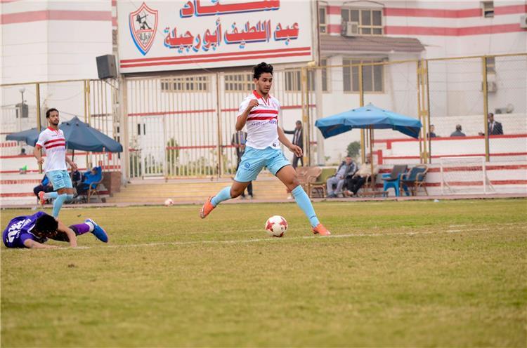 حسام اشرف لاعب الزمالك
