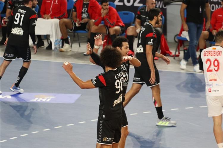 مصر ومقدونيا في كاس العالم لكرة اليد