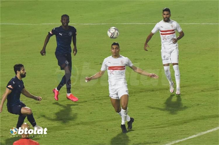 مصطفى محمد لاعب الزمالك