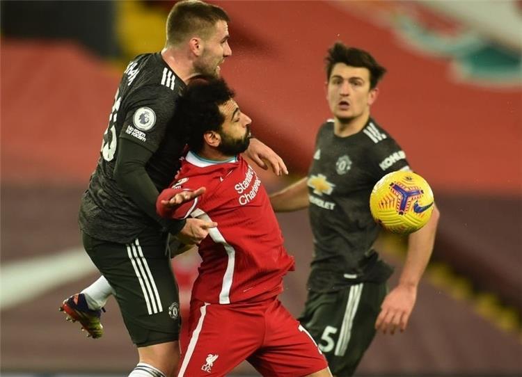 محمد صلاح ضد مانشستر يونايتد