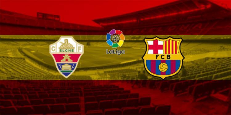 برشلونة وإلتشي
