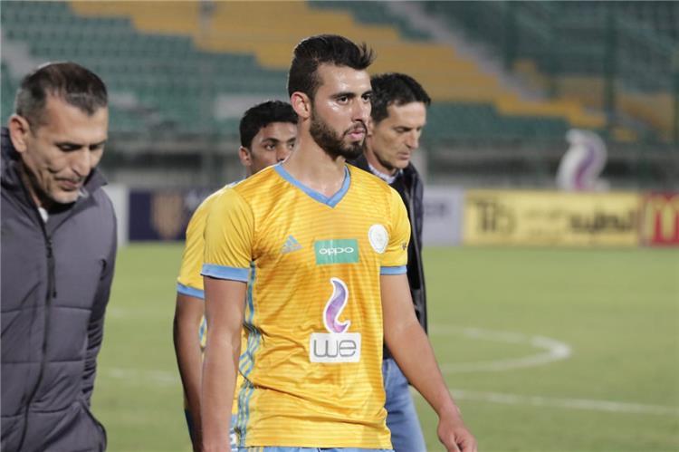 باهر المحمدي لاعب الإسماعيلي