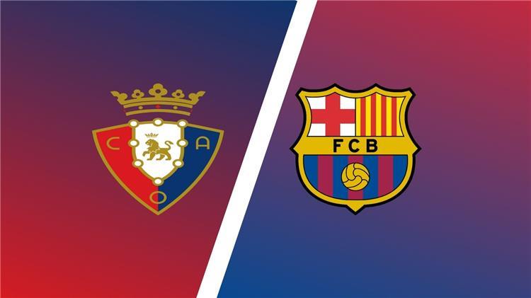 برشلونة وأوساسونا