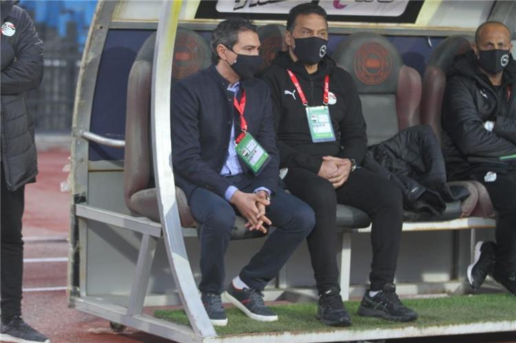 حسام البدري في مباراة مصر وجزر القمر
