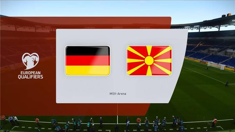 ألمانيا ومقدونيا