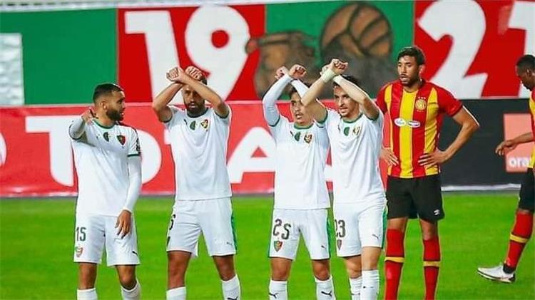 مباراة الترجي ومولودية الجزائر بدوري ابطال افريقيا
