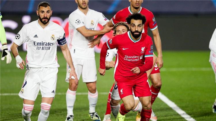 ليفربول وريال مدريد