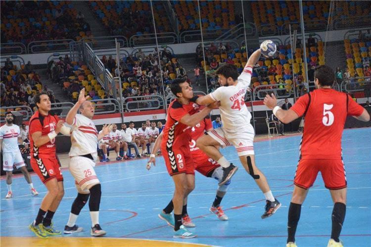 مباراة الزمالك والاهلي لكرة اليد