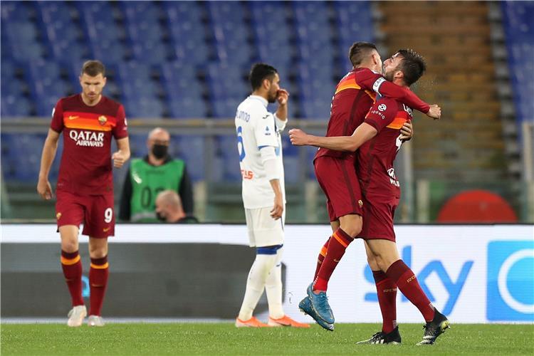 من مباراة روما وأتالانتا