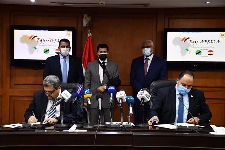 توقيع البروتوكول المشترك بين مصر وتنزانيا