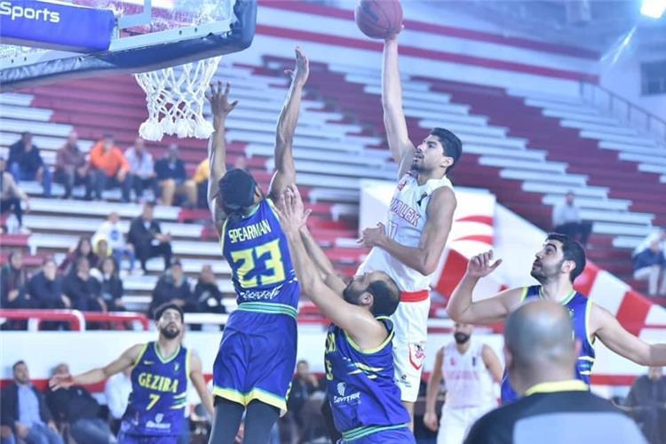 فريق كرة السلة بنادي الزمالك