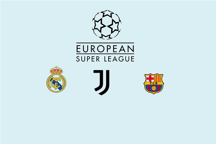 برشلونة ويوفنتوس وريال مدريد