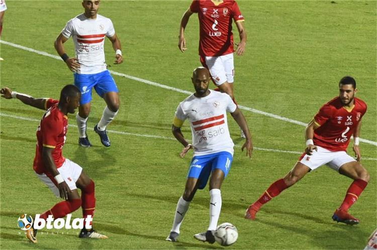 شيكابالا من مباراة الاهلي في الدوري