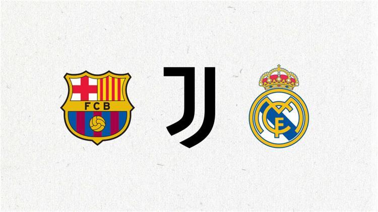 برشلونة وريال مدريد ويوفنتوس