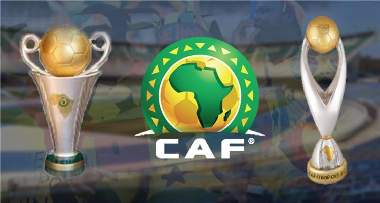 شعار الاتحاد الافريقي لكرة القدم وكاس دوري الابطال وكاس الكونفدرالية